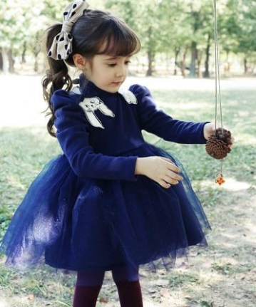 Autumn angel tutu dress