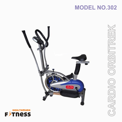 4 in 1 orbitrek with seat and pulse stand
