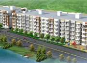 For Sale 2bhk, 1200sft, Semi furnished flat 57Lakhs at Halas