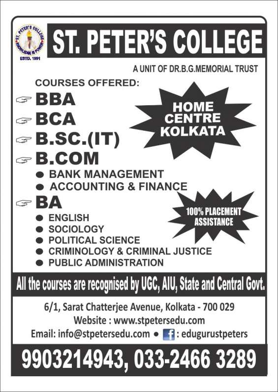 Save one year.. directly join bba/bca/bcom/ba