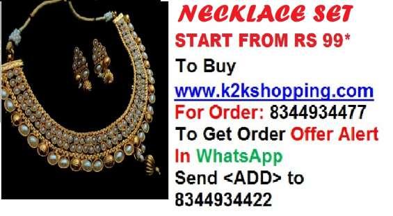 Necklace set,bridal sets, golden colour sets,fashionable sets,model necklace sets