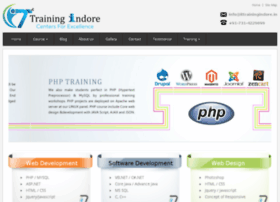 Php training center in indore- it training indore