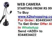 Webcamera, Driverless PC Webcamera,  Zebronics (Lucid Plus) Web Camera, Live Tech WC-02 10