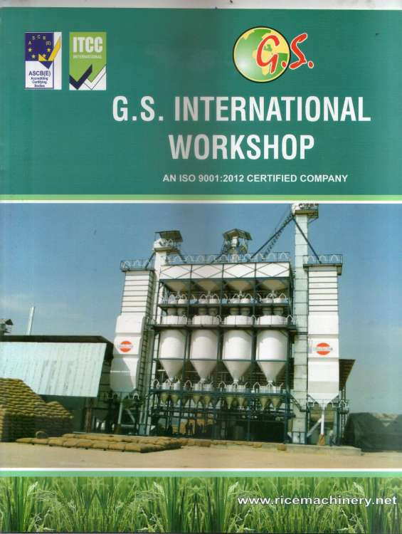 Paddy parboiling plant manufacture