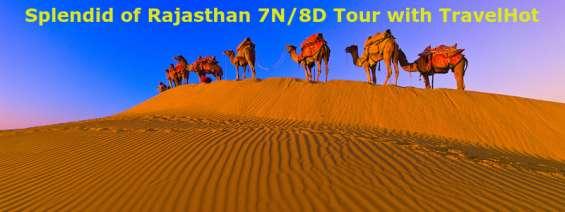 Splendid of rajasthan 7n/8d tour