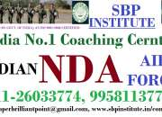 Best coaching centre NDA Exam. in Saket Delhi
