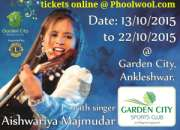 Buy garden city garba mahotsav tickets online @ p…