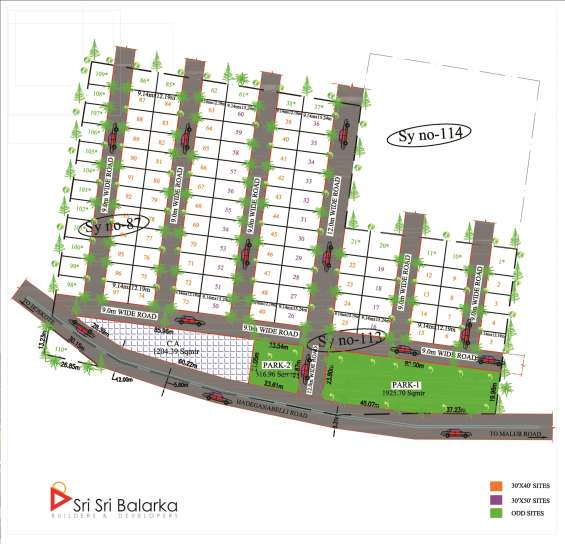 Mpa approved sites with fully developed @ near itc company