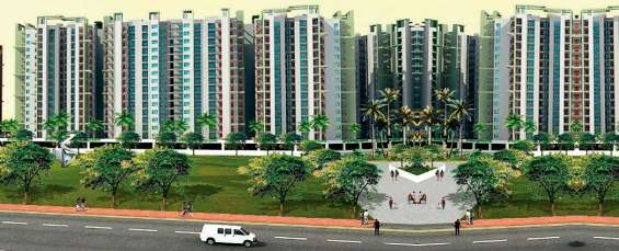 Ajnara le garden spacious 2 bhk residential apartments in noida extension