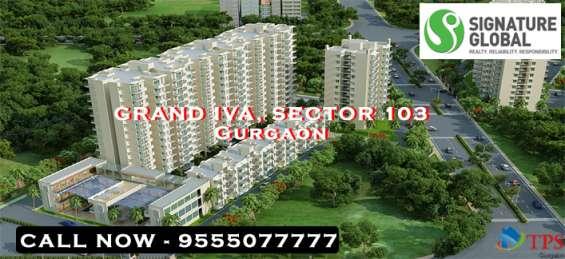 Signature global grand iva gurgaon @ 8468oo33o2