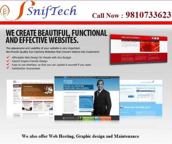 Website design, web development, mobile app & cadd design in gurgaon