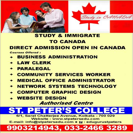 For education in canada