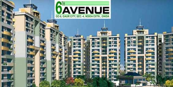 Gaur city 6th avenue: 2/3/4 bhk apartment by gaursons group| noida