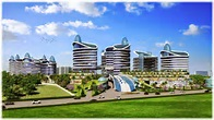 Luxurious and advanced homes airwil smart city@9278077077