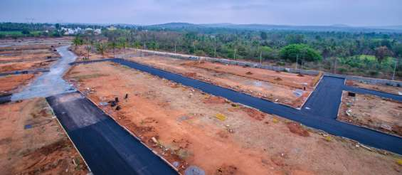 Premium plots on bangalore south.