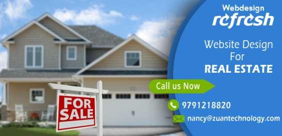 Reg: website design for real estate