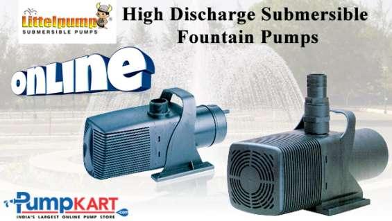 Littelpump high discharge submersible fountain pumps online