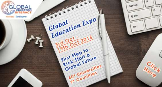 So much to explore at the global education fair in india this october