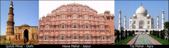 The heritage golden triangle in just rs. 36,000 (onwards) per couple