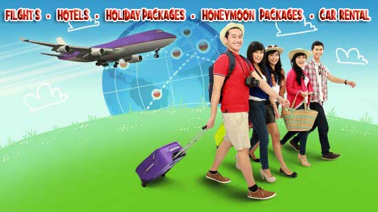 Best deals in flight bookings, hotel bookings, car rental and holiday packages