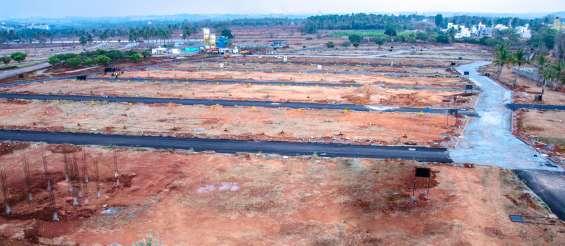 30*50 premium plots on south bangalore