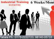 Six Weeks/Six Months Industrial Training in Patiala