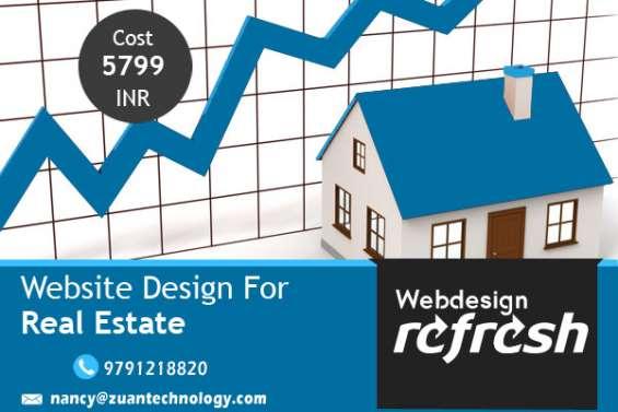 Best real estate website design services