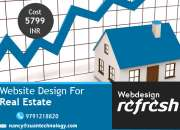 Best real estate website design services