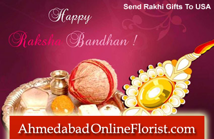 Surprise your loved ones in usa from a far away place on this raksha bandhan