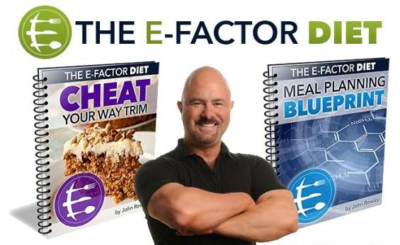 The e-factor diet [author of the complete diet plan and it's bonus ebooks is john rowley,