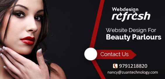 Affordable website design services for beauty parlors
