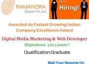 Digital media marketing & web developer