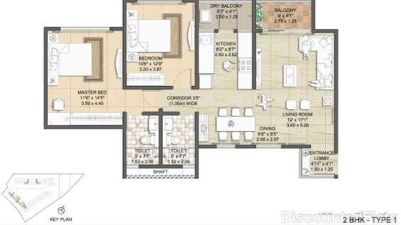 Nitesh virgin island floor plan 1