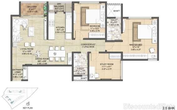 Nitesh virgin island floor plan 2