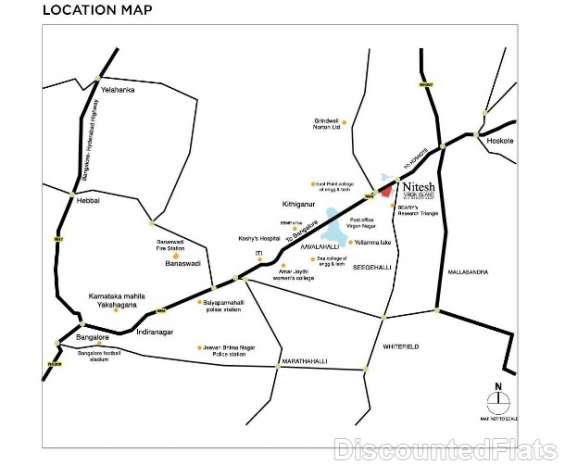 Nitesh virgin island location map