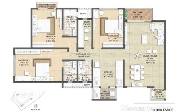 Nitesh virgin island floor plan 4
