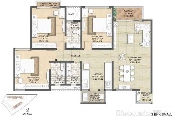 Nitesh virgin island floor plan 3