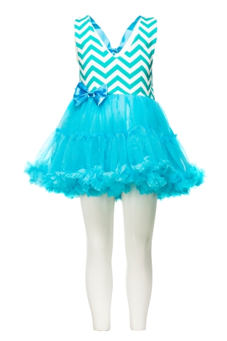 Chevron halter tutu dress at foreverkidz