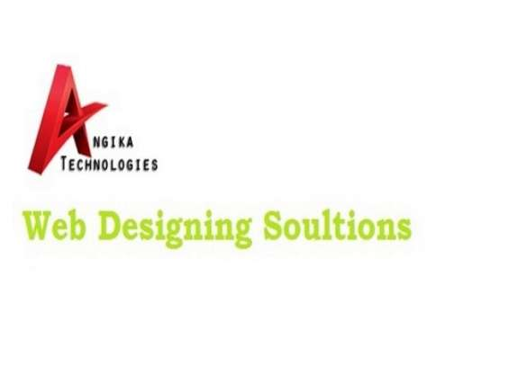 Custom web development and design services by angika technologies
