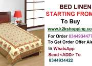 BED LINEN, Polycotton Single Bed Sheet, K Décor Chota Bhim Full Printed Double Bed Sheet (