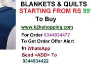 BLANKETS & QUILTS K decor single bed AC blanket, K decor single bed AC blanket, K decor si