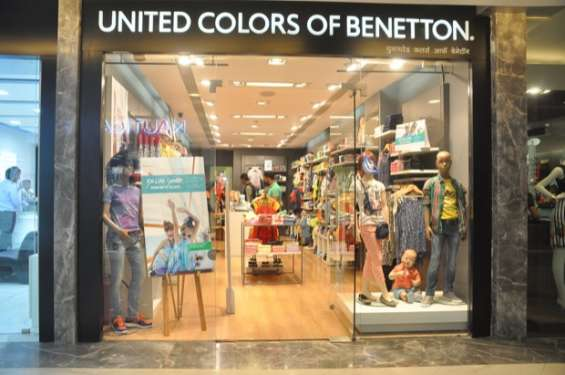 Fashion apparel at united colors of benetton india