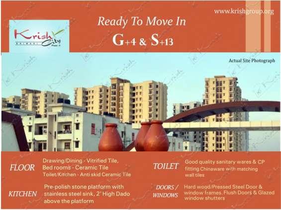 Krish city-i 2bhk apartment in bhiwadi