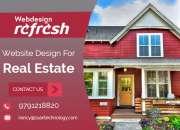 Reg: Innovative website design for Real Estate