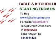 Table & kitchen linen, Makewell Kitchenware Fork Set of 10, Shreeji Peeler & Grater, Pasta