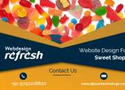 Reg: Website Design for Sweets Shops in Chennai.