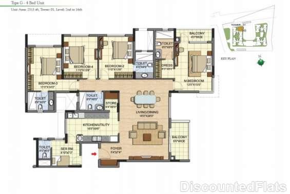 Prestige jade pavilion floor plan 3