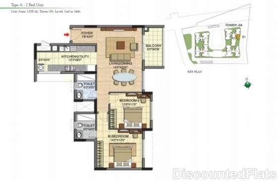 Prestige jade pavilion floor plan 1