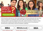 MBA Distance Education from Top Ranked University