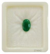 Purchase certified attractive emerald/panna gemstone